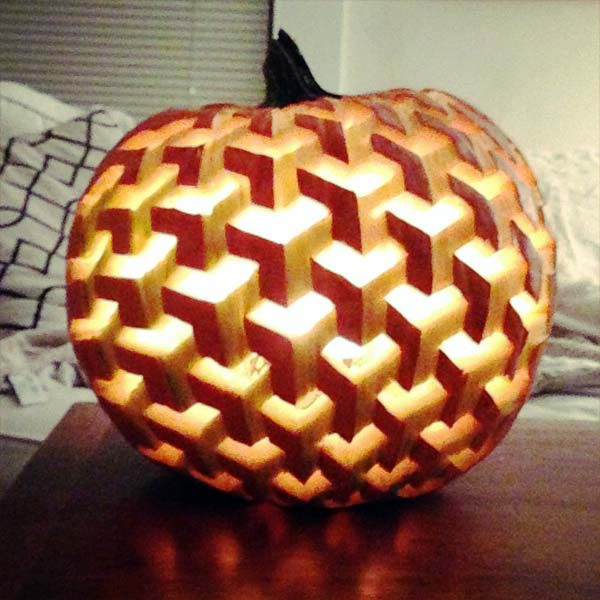 Pumpkin-Optical Illusion