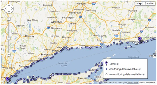 Connecticut Beaches Get Crummy Marks for 2011 Water Quality ...
