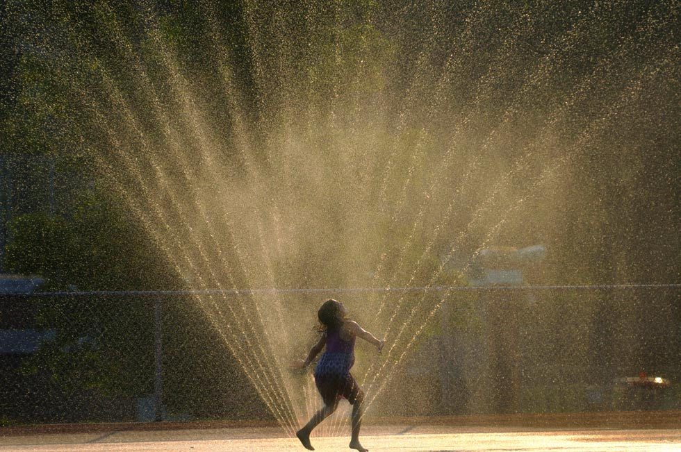 Sprinkler-girl blog