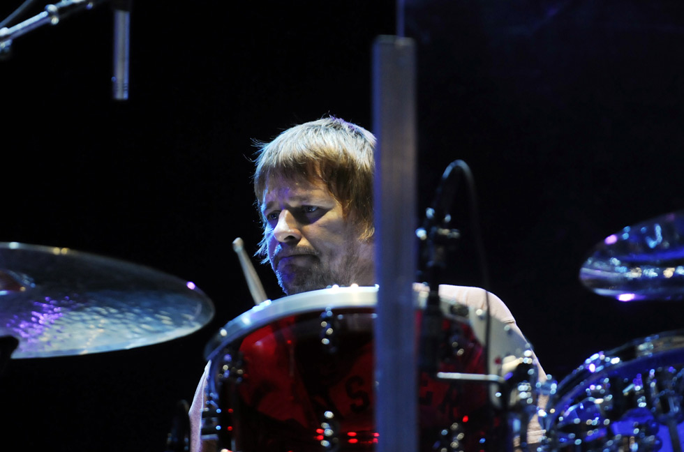 Zak Starr, the son of former Beatle drummer, Ringo Starr, is the drummer for The Who. He really looks like his dad.