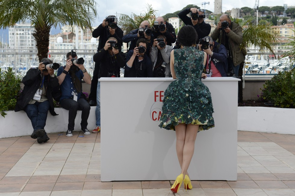 Chinese actress and member of the Un Certain Regard Jury Zhang Ziyi poses during a photocall, on May 16, 2013, at the 66th edition of the Cannes Film Festival. AFP PHOTO / ANNE-CHRISTINE POUJOULATANNE-CHRISTINE POUJOULAT/AFP/Getty Images