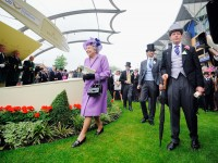 Queen Elizabeth II after the Gold Cup race  on Ladies' Day during day three of the Royal Ascot. Charlie Crowhurst/Getty Images for Ascot Racecourse