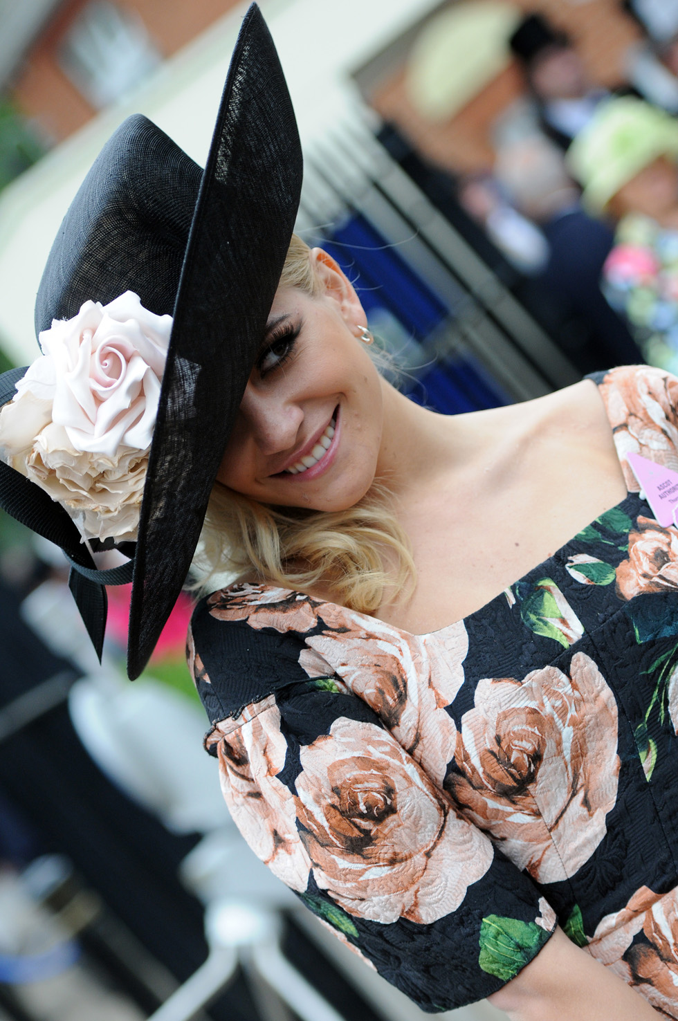 Pixie Lott attends Ladies Day on Day 3 of Royal Ascot. Eamonn M. McCormack/Getty Images