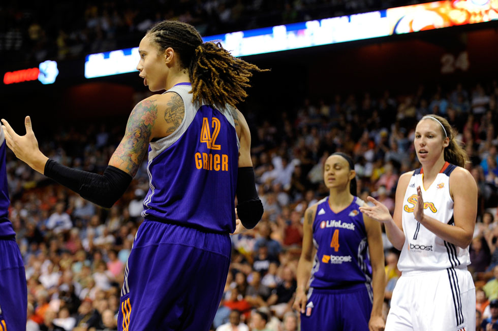 Connecticut Sun vs Phoenix Mercury