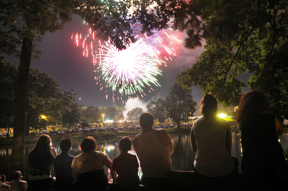 The New Britain Parks and Recreation Dept. hosted their 20th Annual Great American Boom at Stanley Quarter Park on July 4, 2013) RICHARD MESSINA| rmessina@courant.com