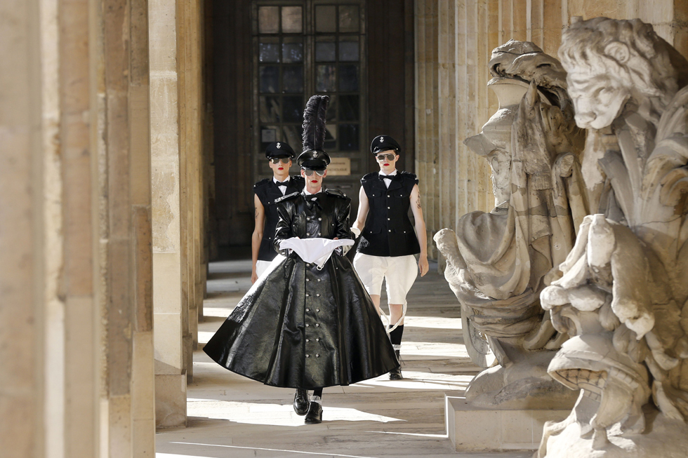 Thom Browne AFP PHOTO / FRANCOIS GUILLOT/AFP/Getty