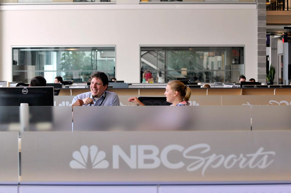 The new facility will likely house more employees as the network lands the rights to broadcast new sports. On Tuesday, NBC Sports and NASCAR announced a 10-year deal, beginning in 2015, for the network to air the second half of the Sprint Cup Series and the second half of the Nationwide Series.
