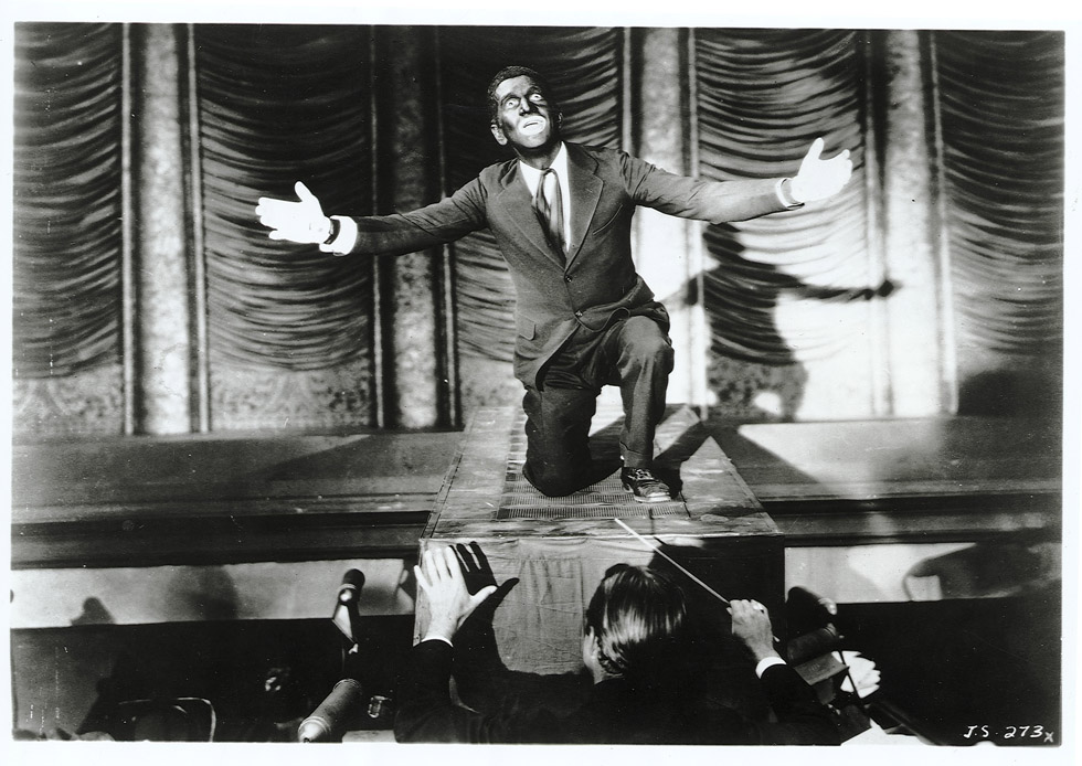 "October 6, 1927 -- The first talkie opened in New York City. ""The Jazz Singer."" starring Al Jolson, was the first full-length feature film using spoken dialogue. File Photo"