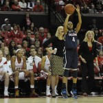 Team of Nine UConn Women Huskies Beat Maryland
