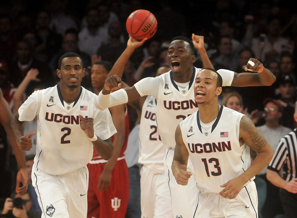 UConn vs. Indiana Men's Basketball