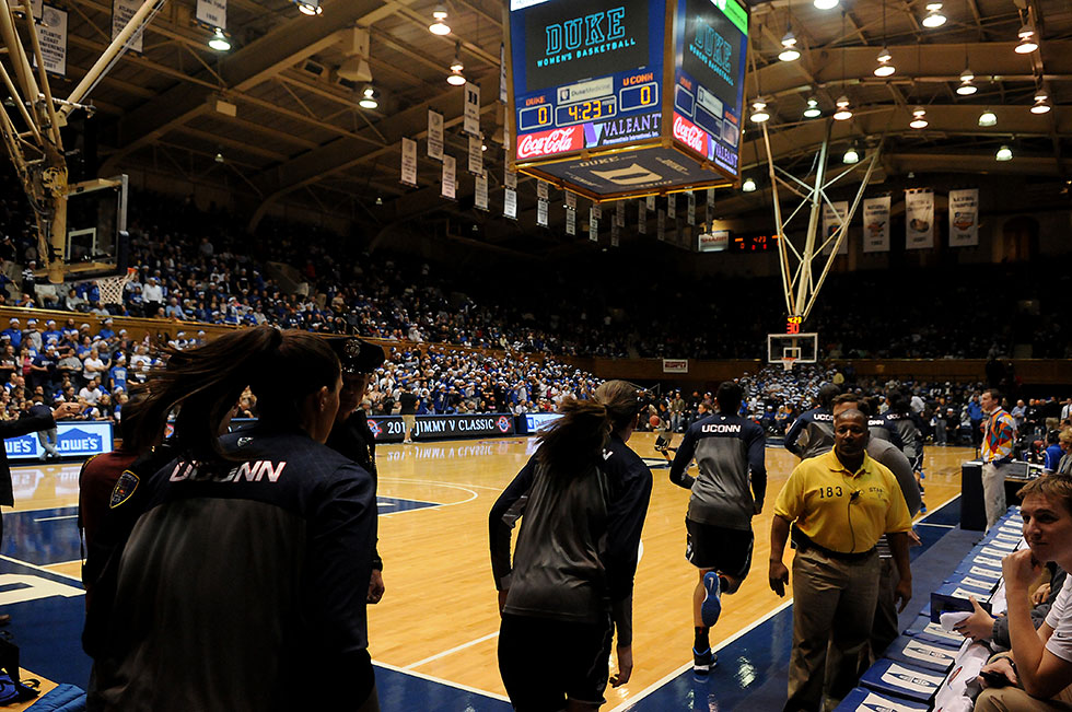 It was #1 UConn against #2 Duke at Cameron Indoor Stadium in Durham, NC, Tuesday evening. At the conclusion of the game it was clear there are few teams that will be able to knock the Huskies from their lofty perch.
