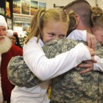Wolcott Twins Ask Santa for Army Brother's Return