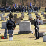 Funeral for Lt. Richard Bond