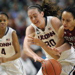 UConn Women Take on Temple in Bridgeport