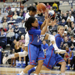 Lady Huskies Destroy SMU Mustangs