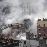 Two Apartment Buildings Collapse in New York City