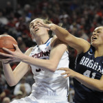 UConn Women Beat BYU In Sweet 16