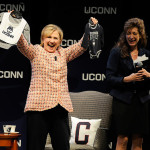 Hillary Clinton Speaks At UConn Forum