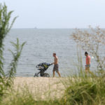 Labor Day weekend beaches: hazy, hot, humid… sparse